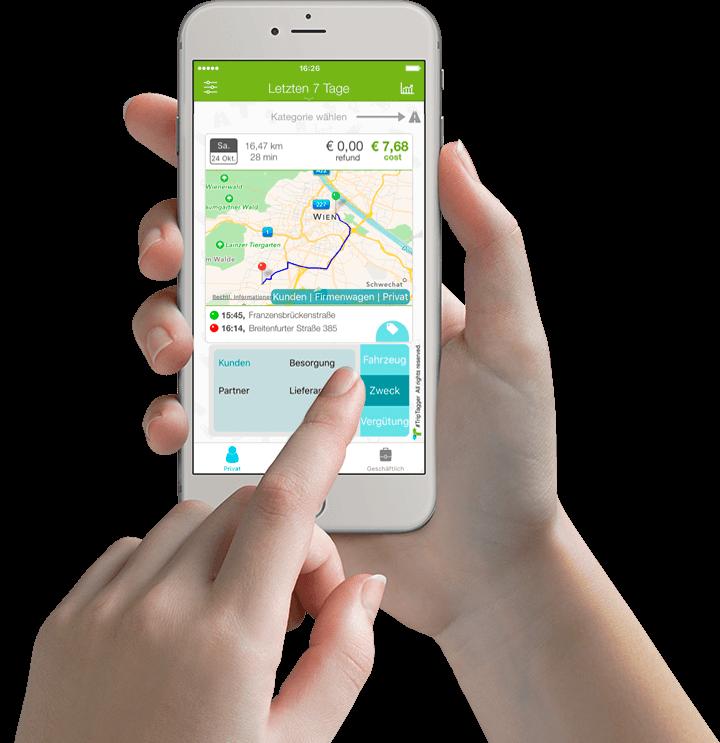 Verhüten Mit Dem Smartphone: Fahrtenbuch App, Automatisch- Nur Mit Dem